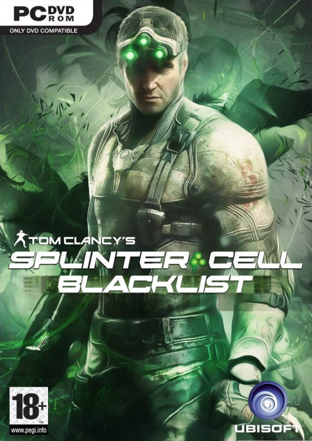 обложка Tom Clancy's Splinter Cell: Blacklist