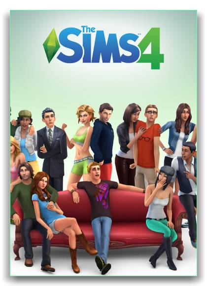 The Sims 4:Deluxe Edition обложка