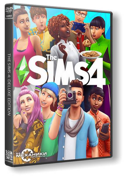 The Sims 4: Deluxe Edition (Repack by R.G. Механики) скачать торрент